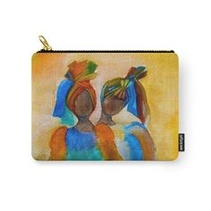 Society6 African Costumes Carry-All Pouch by Costa. Organize your life with one of our Carry-All Pouches. Available in three sizes with wrap-around artwork, these pouches are perfect for carrying toiletries, art supplies and makeup-or fit an iPad in the large one. Comes with the ever-awesome YKK zipper, a strong canvas-like exterior, a 50/50 poly-cotton black interior lining and is machine washable.Bag,Bags,Beauty,Fashion,fashion accessories,flowers,blooms,nature,garden,womens
