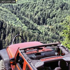 Nice view out the top. #Jeep