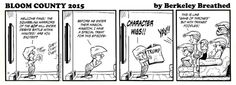 Bloom County 2015 - 12 August 2015