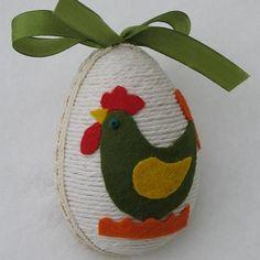 inne formy dekoracyjne filc akcesoria na wielkanoc zwierzęta inne zielony kogucik Easter Projects, Diy Projects For Kids, Easter Crafts, Diy For Kids, Polymer Clay Crafts, Felt Crafts, Diy And Crafts, Arts And Crafts, Easter Bunny