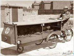 Primo servizio di ambulanza al mondo