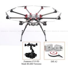 FlyingVideoPro - DJI S1000 A2 ZENMUSE Z15 5D MARK III (HD VERSION), $6,560.00 (http://flyingvideopro.com/dji-s1000-a2-zenmuse-z15-5d-mark-iii-hd-version/)