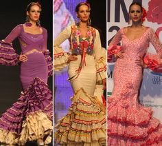 Flamenco dresses...typical Spanish