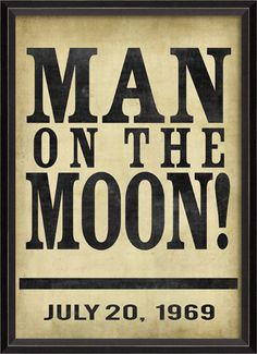 Man on the Moon - Spicher and Company and ProjectDecor.com