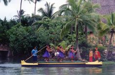 Laie, Oahu, HI - Polynesian Cultural Center. Visit replica villages from several Pacific islands, view the canoe pageant, and enjoy a luau. .