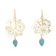 Womens Bubbly Double-Drop Earrings Judy Geib MoyKjGiDev