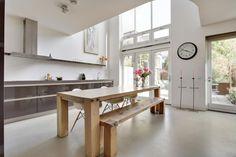 Modern en royaal herenhuis op Steigereiland-Zuid, een van de mooiste stukjes van…