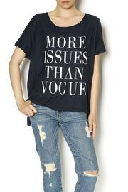 More Issues Tee