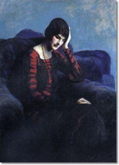 Portrait of Isabel Bishop, Guy Pene du Bois, 1924