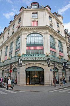 The Conran Shop Paris: 117 rue du bac, 75007   Metro: Sevres-Babylone  3 etages design