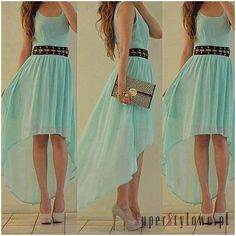 Fashion Clothes for Teenage Girls | Piękna letnia zwiewna sukienka!