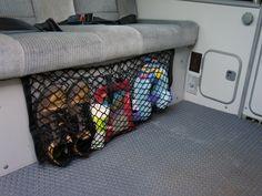 Bench Seat Cargo Net   GoWesty