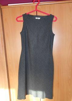 Kup mój przedmiot na #vintedpl http://www.vinted.pl/damska-odziez/krotkie-sukienki/11566992-sukienka-szara-koktajlowa-elegancka-hit-klasyczna-polecam