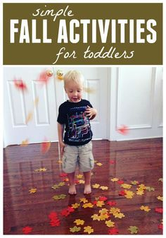 Toddler Approved!: Simple Fall Activities for Toddlers