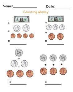 2nd grade money worksheets counting money to 2 sheet 2 marvelous math pinterest money. Black Bedroom Furniture Sets. Home Design Ideas