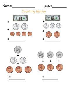 Practice Test: Counting Money | Mathe-Arbeitsblätter ...
