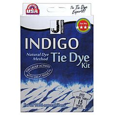 We tried this and it was awesome!  This kit brings the ancient art of indigo dyeing to the home dyer in a user friendly formulation.