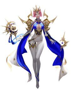ArtStation - Goddess, TaeKwon Kim(A-rang) Fantasy Girl, Chica Fantasy, Fantasy Art Women, Fantasy Warrior, Female Character Design, Character Design Inspiration, Game Character, Character Concept, Concept Art