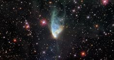 NGC 2261 - Hubble's Variable Nebula Credit: Akari/SDSS/Galex/Giuseppe Donatiello