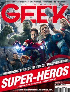 Geek Magazine - N° 6 - Mars & Avril 2015 Arkham Knight, Chris Hemsworth, Geek Magazine, Steve Ditko, Batman, Harry Potter, News Magazines, Teen Titans, Science