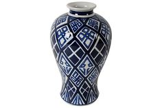 Blue Home Accents Vase by Ashley Furniture