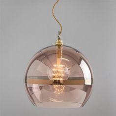 Buy Ebb & Flow Striped Rowan Pendant, Copper from our Ceiling Lighting range at John Lewis. Copper Lamps, Copper Lighting, Kitchen Pendant Lighting, Modern Lighting, Lighting Design, Island Lighting, Copper Lights Kitchen, Industrial Lamps, Industrial Interiors