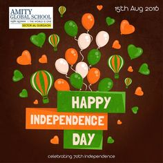 Remember the sacrifice our #Indian #freedom #fighters who shaped this country. Rejoice and celebrate the day with pride. Independence Day greetings to you and your family! #Happy #Independence #Day #AmityGlobalSchoolGurgaon #AGSG