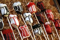 Corset cake pops - cute for a bachelorette party