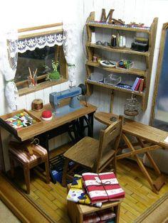 Detalle de cuarto de costura