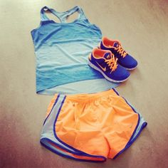 nike running outfit #running gear #we own the night collection #nikefree5.0