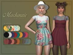 45684d6eb0e5 Trillyke Mini Dress + Accessory T-shirts The Sims