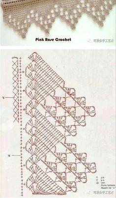 ~ Venise Lace Trim, off white lace trim, bridal trim lace, crochet leaves lace trim, Filet Crochet, Crochet Lace Edging, Crochet Leaves, Crochet Motifs, Crochet Borders, Crochet Art, Crochet Stitches Patterns, Irish Crochet, Crochet Designs