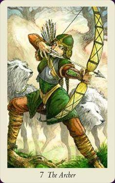The Archer - Wildwood Tarot- art by Will Worthington