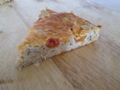 Easy Crustless Tuna Tart
