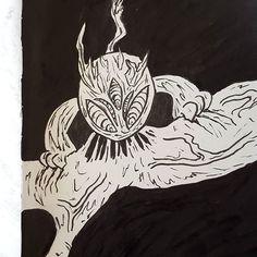 #demon #dark #manga #blanckandwithe #ink #sketch #trash #demenbrement Images, Sketch, Ink, Manga, Photo And Video, Drawings, Pictures, Instagram, Drawing Drawing