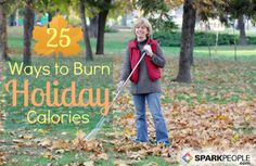 Squeeze a little extra calorie burning into your holiday with these fun activities! via @SparkPeople