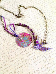 Rhapsody necklace. Gem Jelly on Etsy.