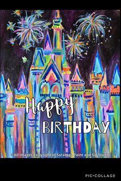 Happy Birthday Disney Animated Gif Disney Pinte