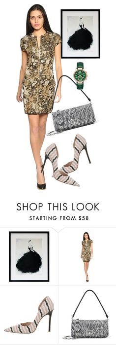 """dress"" by masayuki4499 ❤ liked on Polyvore featuring M Missoni, Miu Miu and Michael Kors"