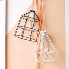 Geometric Metal Light Shades | Collected by LeeAnn Yare
