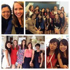 Chicago's Together Work's Better winners Katie Feltz, Jacqueline Jones & Jolyn Koehl journeyed to our office in Singapore!