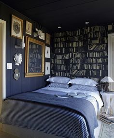 Moody Cool: A Gallery of Dark Bedrooms | Apartment Therapy
