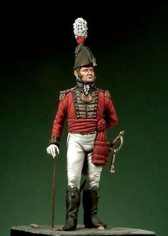 Royal Marines Lieutenant, c. 1805