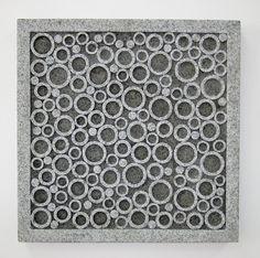 Sandstone Square Design Wall Art - Set of 2 – Modish Store