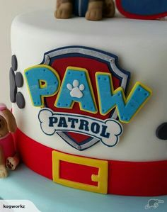 Paw Patrol Badge Logo Cake Topper for sale on Trade Me, New Zealand's auction and classifieds website Paw Patrol Torte, Paw Patrol Badge, Paw Patrol Cake Toppers, Paw Patrol Birthday Cake, 3rd Birthday Cakes, Twin Birthday, 4th Birthday, Cake Logo, Novelty Cakes