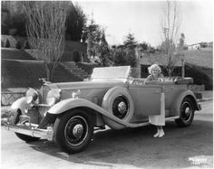 1932 Packard 903 Deluxe Eight Sport Phaeton once owned by Jean Harlow.