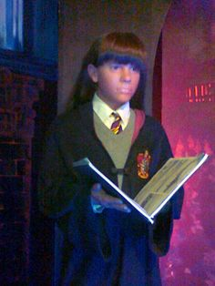 Wax figure of Hermione (Emma Watson) in Innovative Film City Bangalore