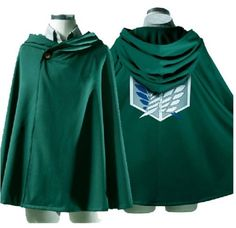 USA Cosplay Attack on Titan Anime Shingeki no Kyojin Cloak Cape clothes for Like the NEW! USA Cosplay Attack on Titan Anime Shingeki no Kyojin Cloak Cape clothes? Cosplay Wings, Snk Cosplay, Cosplay Outfits, Anime Outfits, Cosplay Ideas, Cheap Cosplay, Anime Costumes, Cosplay Costumes, Cape Costume