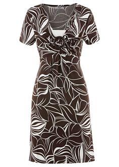 Sukienka z krótkim rękawem Dekolt w • 99.99 zł • bonprix