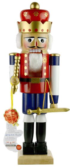 german nutcrackers | Steinbach King German Nutcracker SteinbachNutcrackers.com
